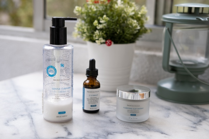 SkinCeuticals review: Clariflying Clay Masque, Gentle Cleanser and C E FerulicSerum