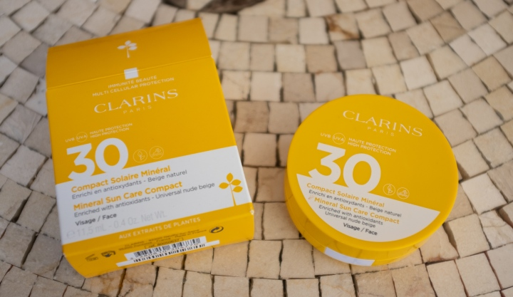 No one talks about… Clarins Mineral Sun Care Compact for Face SPF30 (review,swatches)