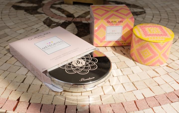 Guerlain Summer 2020 – Brazilian Fizz Météorites and Pearl Highlighter palette (review,swatches)