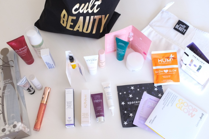 Cult Beauty Self Care Goody Bag: Unboxing &Opinions