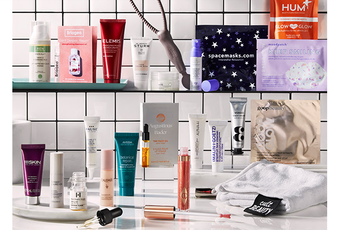 The Self Care Goody Bag from Cult Beauty (2021) – a 320£Value