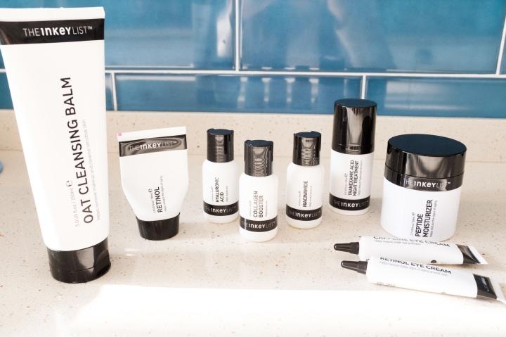 Brand Review | The Inkey List (niacinamide, retinol, eye creams, oat cleanser &more)